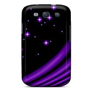CheapCases Wcc5304ejwd Protective Case For Galaxy S3(purple Stars)