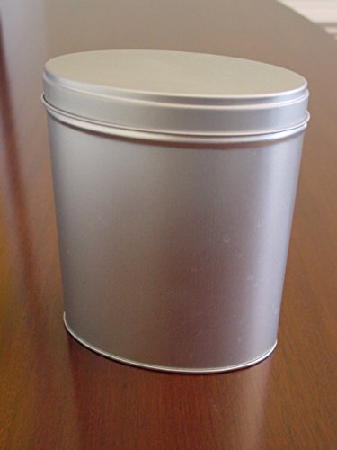 Oval Canister Food Tin Bulk Food Storage Tin Great for Gifting Cookies & Amazon.com: Oval Canister Food Tin Bulk Food Storage Tin Great ...