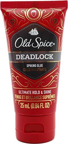 Old Spice Deadlock Spiking Glue, Travel Size.84 Ounces/25 ml (Pack of (Axe De Glue)