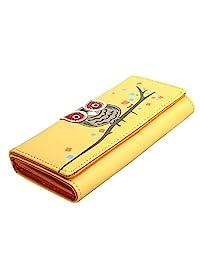 Bessky® Small Fresh Women Wallet Girls Long Purse Mobile Phone Bag (Yellow)
