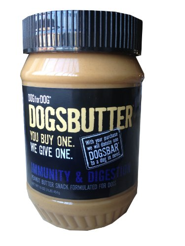 Dog for Dog Peanut Butter for Dogs with Immunity and Digestion Formula, 16-Ounce, My Pet Supplies