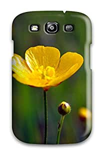 ZippyDoritEduard ZNDUEWI5703UblzY Case For Galaxy S3 With Nice Yellow Flowers Appearance
