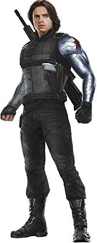 amazon com 10 inch winter soldier bucky barnes captain america10 inch winter soldier bucky barnes captain america shield civil war team cap marvel avengers comics