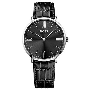 Hugo Boss Homme Analogique Classique Quartz Montre avec Bracelet en Cuir 1513369