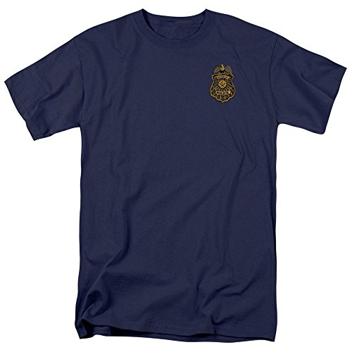 Trevco Batman Arkham Knight Gotham Badge Adult T-Shirt at Gotham City Store