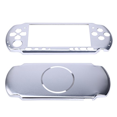 Psp Faceplates Buttons (WinnerEco Playstation Case Aluminum Hard Case Cover Shell Guard Protector for Sony PSP 3000 Slim Console)