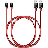 Anker [2-Pack] PowerLine+ Lightning Cable (6ft) Durable...