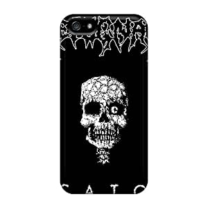 Bumper Hard Cell-phone Cases For Iphone 5/5s (qyu598xhbp) Provide Private Custom Trendy Grave Band Pictures