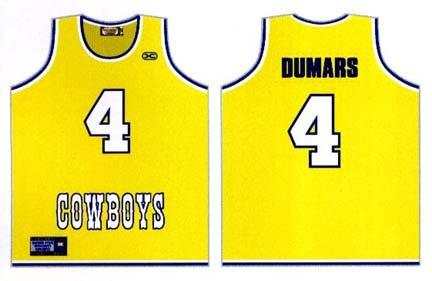 quality design 4e7c0 ee8ca Joe Dumars McNeese State University Cowboys Authentic ...