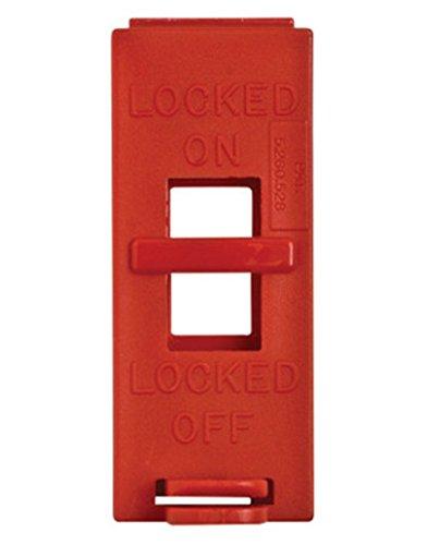 Brady Red Wall Switch Lockout. (4 Each) by Brady USA