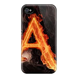 AMGake Perfect Tpu Case For Iphone 4/4s/ Anti-scratch Protector Case (a For Anita)