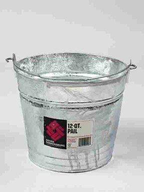 Metals Dover - Dover Parkersburg 12qt Hotdip Metal Water Bucker 12