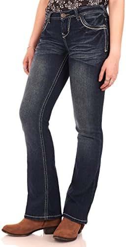 WallFlower Juniors Washed Basic Legendary Bootcut Jeans