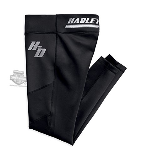 Harley-Davidson Womens Mesh Accent Activewear Pants 96153-18VW (Harley Womens Activewear)