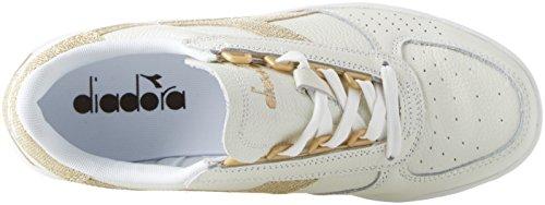 B Sneaker Donna Wn Diadora L Oro Bianco Elite Bianco HqzTO