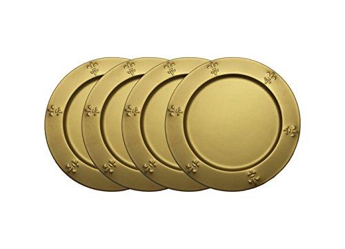 GiftBay Wedding Metal Charger Plates 13
