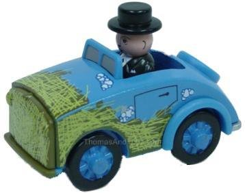 Learning Curve Messy Sir Topham Hatt Car - Thomas Wooden Railway Tank Engine Train Loose