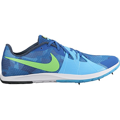 Men's Nike Zoom Rival XC Spikes Blue Jay/Rage Green/Blue Fury/Blue (Nike Spikes)