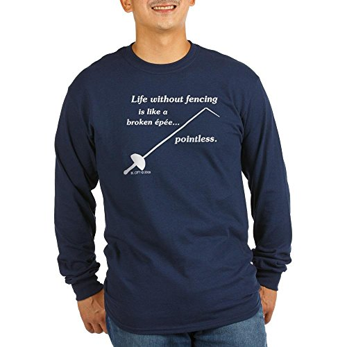 CafePress Pointless Unisex Cotton Long Sleeve T-Shirt Navy