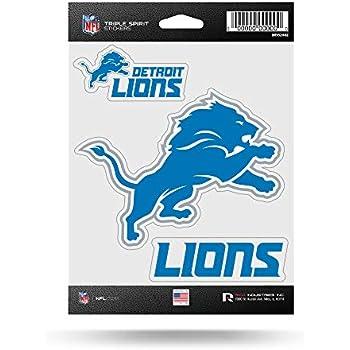 NFL Detroit Lions Die Cut 3-Piec...