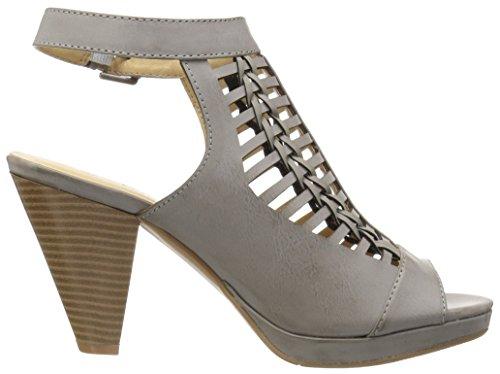 CL by Chinese Laundry Women's Waves Dress Sandal, Slate Grey Slate Grey Burnished