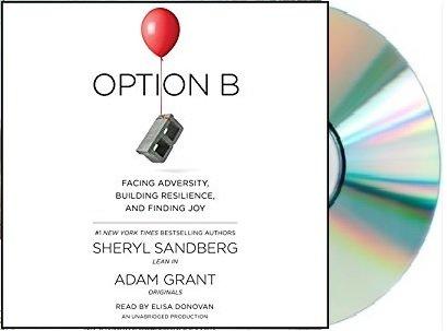 [[OPTION B Audiobook Audio CD Unabridged by Sheryl Sandberg]OPTION B Audio CD]