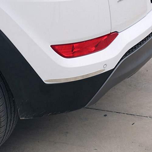Bingo Point Foal Burning Stainless Steel Car Bumper Corner Anti Scratch Strip Sticker for Kia Sportage KX5 QL 2015-2017 Car-Styling by Bingo Point (Image #6)