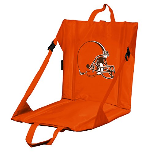Mlb Logo Seat Cushion - Logo Brands NFL Cleveland Browns Stadium Seat, One Size, Orange