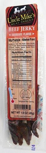 Walnut Creek Amish Foods Beef Jerky BBQ 1.6 oz Package