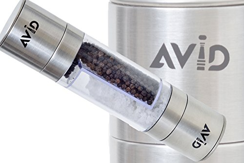 AVID Salt Pepper Grinder Hand Operated