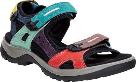 ECCO Women's Anniversary Yucatan Sport Sandal, Multicolor, 40 EU/9-9.5 M US (Ecco Sport Sandals)