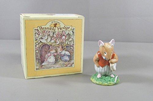851 Royal Doulton Brambly Hedge BASIL Figurine with Box (Hedge Doulton Royal Brambly)