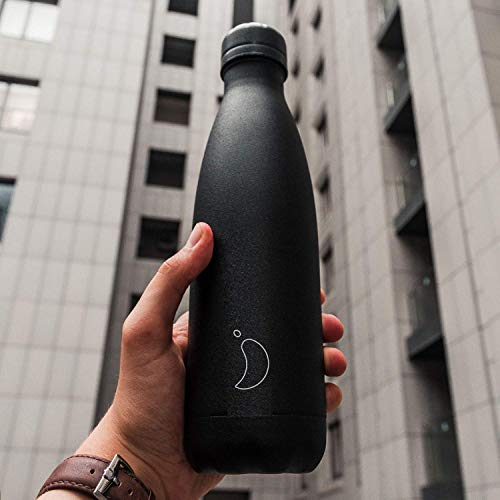 Chilly's Bottles | Leak-Proof, No Sweating | BPA-Free Stainless Steel | Reusable Water Bottle | Double Walled Vacuum Insulated | Keeps Cold for 24+ Hrs, Hot for 12 Hrs