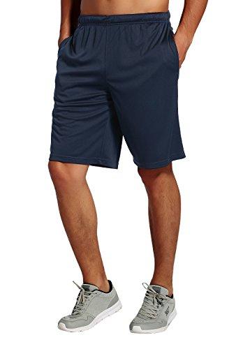 CYZ Men's Performance Jersey Short-Navy-S