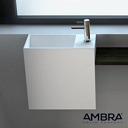Lave-mains suspendu Palma en Solid surface