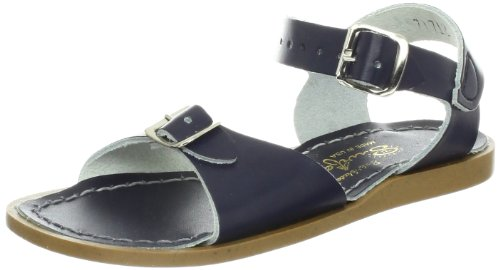 Salt Water Sandals by Hoy Shoe 700-717,Navy,6 M US Toddler