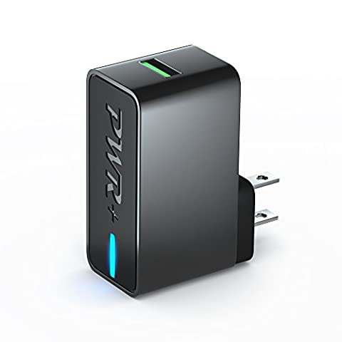 [UL LISTED] Pwr+ 24W Quick-Charge QC3.0 Universal USB Wall-Charger (Quick Charge 2.0, 1.0 Compatible) AC Adapter for iPhone 6S 7 Plus; iPad Mini Pro Air 2; ZTE Zmax Pro Grand X 3 Max 2; LG G4 G5 G6 V10 V20; Google Pixel; Nexus 5X 6P; Huawei Honor; Motorola Droid Turbo 2 Moto G X Pure Z Force; HTC 10 Bolt One M8 M9; OnePlus 2; Sony Xperia; Samsung Galaxy S5 S6 S7 Edge S8; ZTE Axon; BlackBerry Priv; Asus ZenFone 3, Zenpad Tablet; Xiaomi Mi 5 Mix Phone Quick Charge 3.0 Fast Power (Ipad Mini 3 Gsm Unlocked)