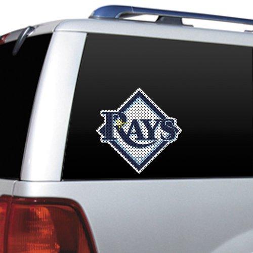 MLB Tampa Bay Rays Die Cut Window Film