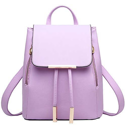 Backpack Women's Bag Vusum Backpack Women's Shoulder Casual Vusum Rose Travel Casual Travel Purple Shoulder qzY4xx