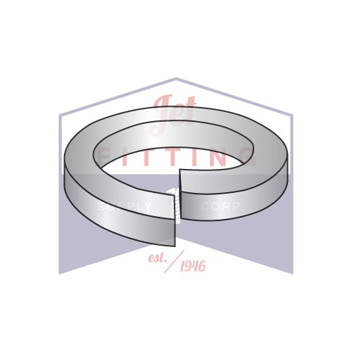 5/16 MS35338 Military Split Lock Washer| 400 Stainless Steel Hardened And Passivated | DFAR (QUANTITY: 2000) by Jet Fitting & Supply Corp