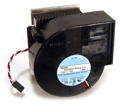 Genuine Dell CPU Blower Fan with Heatsink for OptiPlex GX60, (Dell Optiplex Gx270 Sff)