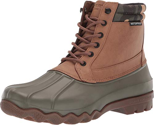 SPERRY Men's Brewster Boot Tan/Camo 10.5 M US