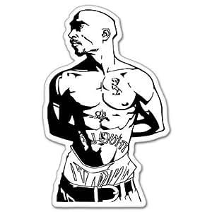 amazoncom tupac shakur rap vynil car sticker 3quot x 5