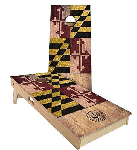 高級素材使用ブランド Skip's Garage メリーランド州旗コーンホールボードセット - サイズとアクセサリーをお選びください Bags) - ボード2枚 (Corn、バッグ8枚など B07N467HB5 A. A. 2x3 Boards (Corn Filled Bags)|A.付属品なし A. 2x3 Boards (Corn Filled Bags), ふりふ 着物 浴衣 レンタル:d073e996 --- staging.aidandore.com