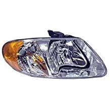 Fits 01 02 03 04 05 06 07 Dodge Caravan Chrysler Town & Country NEW PASSENGER Headlight Headlamp