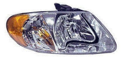 Dodge Chrysler Country Caravan Town (Fits 01 02 03 04 05 06 07 Dodge Caravan Chrysler Town & Country NEW PASSENGER Headlight Headlamp)