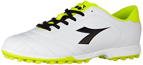 Diadora nero Scarpe giallo Fluo Bianco Da bianco 6play Tf Calcio Uomo rq8r7xw