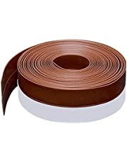 Silicone Seal Strip,8M/26ft Door Strip Bottom for Doors Silicone Sealing Sticker Adhesive for Doors and Windows Gaps of Anti-Collision Anti-Dust Silicone