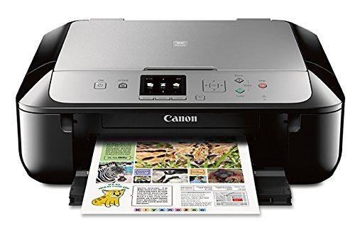 - Canon MG5721 Wireless All-In-One Printer with Scanner and Copier: Mobile and Tablet Printing with Airprintcompatible