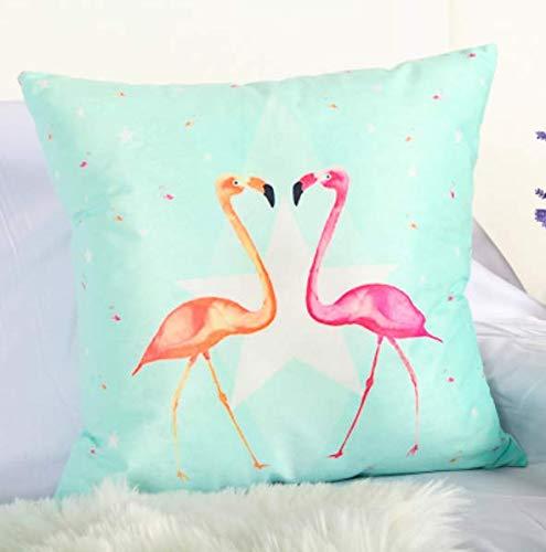 juou Estilo Nórdico Hoja Plantas Aves Flamingo Tropical ...
